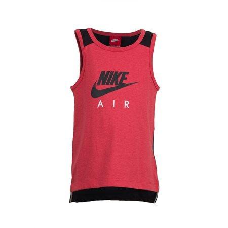 NIKE - Camiseta de tirantes Air Junior Rojo/Negro
