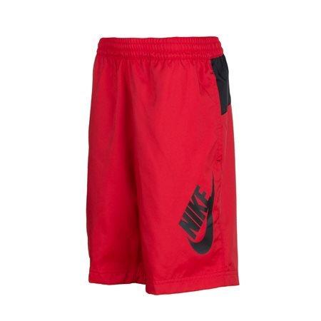 NIKE - Pantalón corto Logo Junior Rojo/Negro