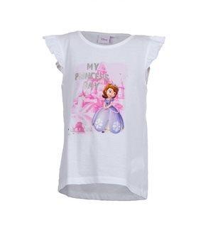 SOFIA - Camiseta My Prinicess Day Junior Blanco