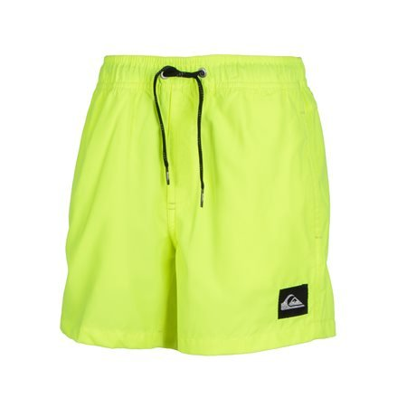 QUIKSILVER - Kids' Everyday Volley Bermuda Swimsuit. Fluor Yellow