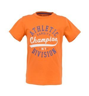 CHAMPION - Camiseta de manga corta Athletic Division Junior Naranja