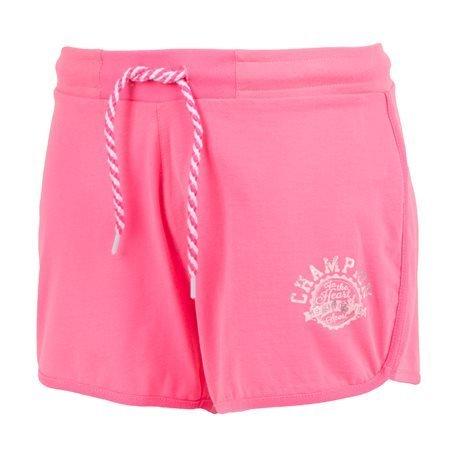 CHAMPION - Shorts deportivos Mujer Rosa