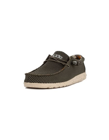 KEIRA - HILARY Zapato Plataforma Mujer Trenzado Elástico Plata