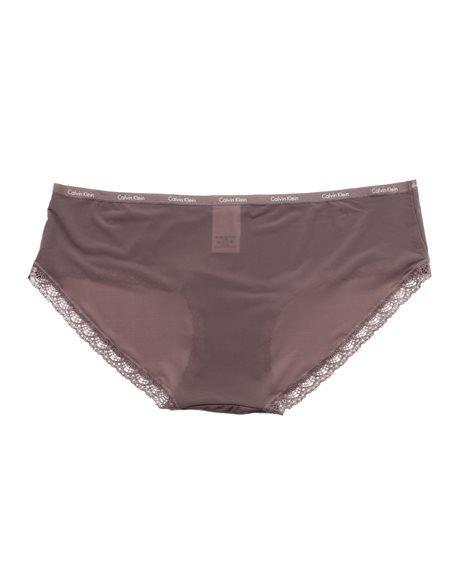 CALVIN KLEIN - Women's Bikini Slip Knickers. Black/ White
