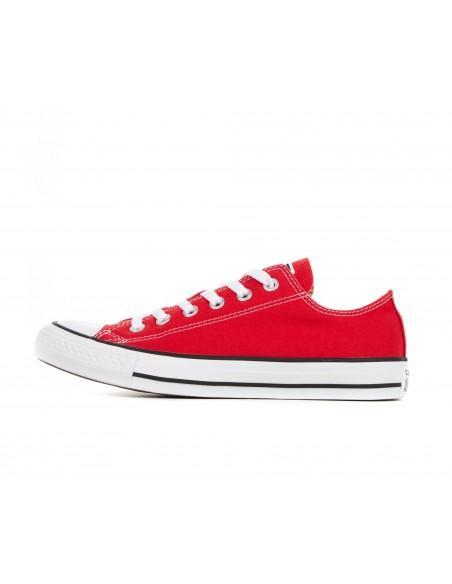 CONVERSE - Zapatillas rojas Chuck Taylor All Star OX Unisex