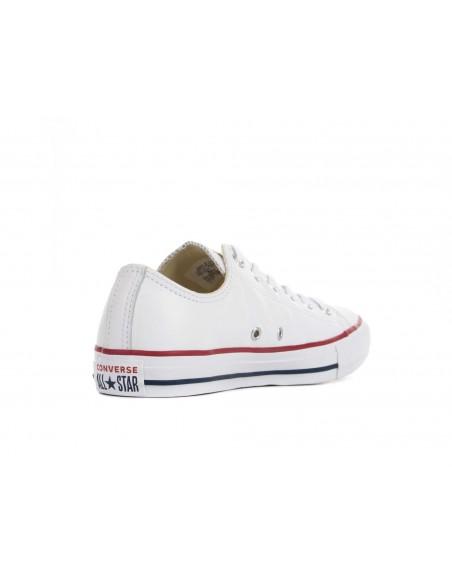 CONVERSE - Zapatillas blancas Chuck Taylor Leather Unisex